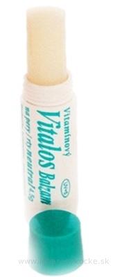 VITALOS Balzam na pery neutral SPF 5 vitamínový 1x1 ks