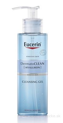 Eucerin DermatoCLEAN HYALURON Čistiaci GÉL citlivá pleť 1x200 ml