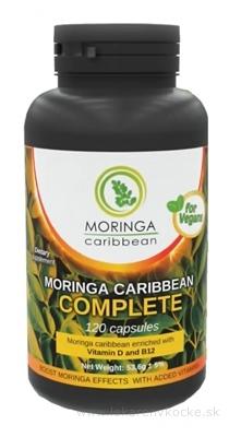 MORINGA Moringa Caribbean COMPLETE cps s vitamínom D a B12 1x120 ks