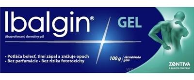 Ibalgin GEL gel der 5 % (tuba Al) 1x100 g