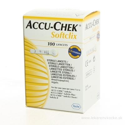 ACCU-CHEK Softclix Lancet 100 lancety do odberového pera 1x100 ks