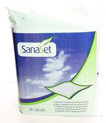 SanaSet Podložka (60x60 cm) absorpčná hygienická (Light), 1x30 ks