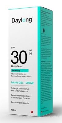 Daylong Sensitive SPF 30 gel - creme 1x100 ml