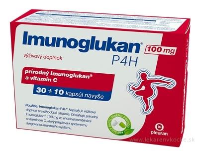 Imunoglukan P4H 100 mg cps 30+10 navyše (40 ks)
