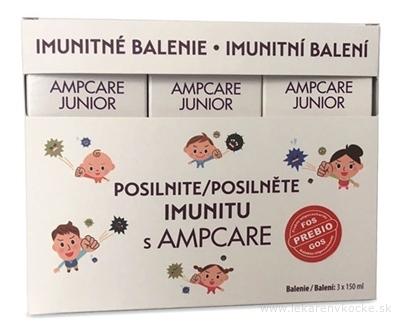 AMPCARE JUNIOR IMUNITNÉ BALENIE sirup 3x150 ml