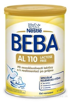 BEBA AL 110 Lactose Free 400g