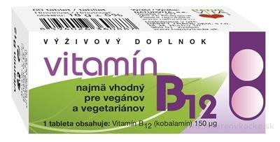 NATURVITA VITAMÍN B12 tbl 1x60 ks