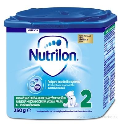 Nutrilon 2 následná mliečna dojčenská výživa v prášku (6-12 mesiacov) (inov.2018) 1x350 g