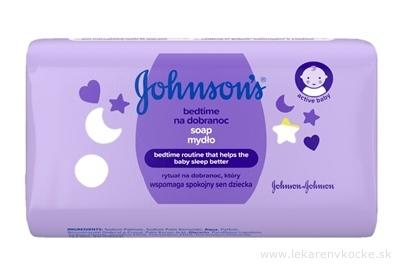 Johnsons Bedtime mydlo pre dobrý spánok (inov.2019) 1x100 g