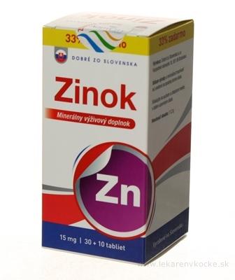 Dobré z SK Zinok 15 mg tbl 30+10 zadarmo (40 ks)