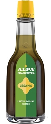 ALPA LESANA FRANCOVKA liehový bylinkový roztok 1x60 ml