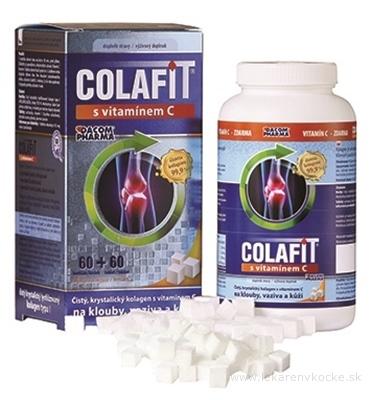 COLAFIT s vitamínom C kocky 60 ks + tbl 60 ks, 1x1 set