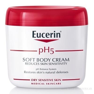 Eucerin pH5 Telový krém pre citlivú pokožku 1x450 ml