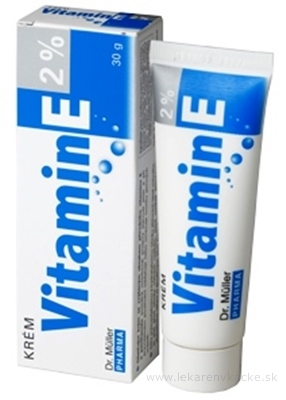 Dr. Müller VITAMÍN E 2% Krém 1x30 g