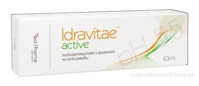 Idravitae active krém multivitamínový, s lipozómami, na suchú pokožku 1x63 ml