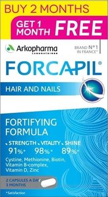 FORCAPIL 2+1 PROMOPACK cps 120+60 zadarmo (180 ks)