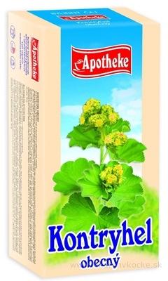 APOTHEKE ČAJ ALCHEMILKA ŽLTOZELENÁ (Kontryhel obecný) 20x1,5 g (30 g)