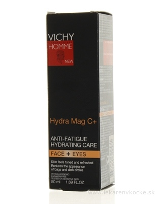 VICHY HOMME HYDRA MAG C+ posilňujúci krém pre mužov (M2918701) 1x50 ml