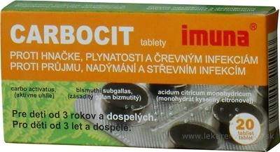 CARBOCIT tbl 320 mg (blister PVC/Al) 1x20 ks