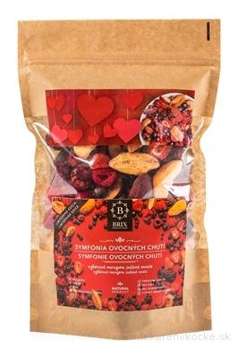 BRIX Symfónia ovocných chutí (výberové mrazom mrazené sušené ovocie) rodinné balenie 1x115 g