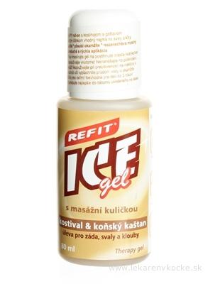 REFIT ICE GEL KOSTIHOJ A GAŠTAN roll-on 1x80 ml