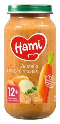 Hami príkrm Zelenina s teľacím mäsom (od ukonč. 12. mesiaca) 1x250 g