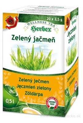 HERBEX ZELENÝ JAČMEŇ bylinný čaj 20x2,5 g (50 g)