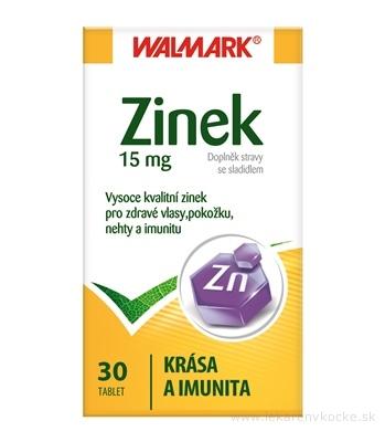 WALMARK ZINOK 15 mg tbl (inovovaný obal 2015) 1x30 ks