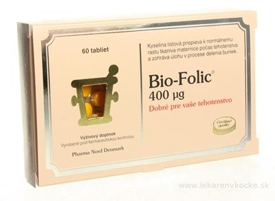 Bio-FOLIC 400 µg tbl 1x60 ks