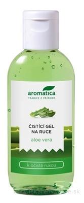 aromatica ČISTIACI GÉL NA RUKY aloe vera 1x75 ml