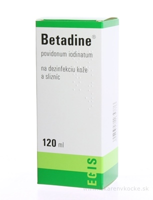 Betadine dezinfekčný roztok 120ml