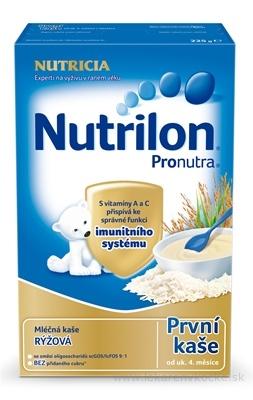Nutrilon Pronutra prvá obilno-mliečna kaša ryžová (od ukonč. 4. mesiaca) 1x225 g