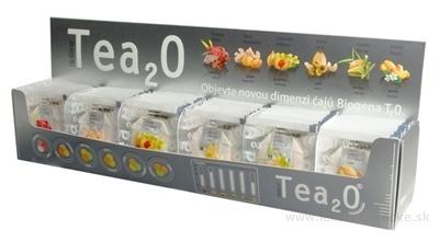 Tea2O MAXI kolekcia čajov: 6 druhov po 10 nálevových vrecúšok 1x60 ks (150 g)