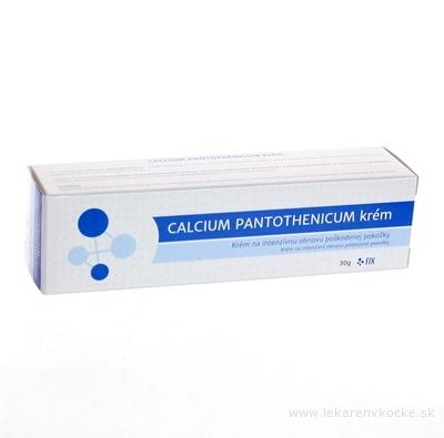 FIX CALCIUM PANTOTHENICUM krém 1x30 g