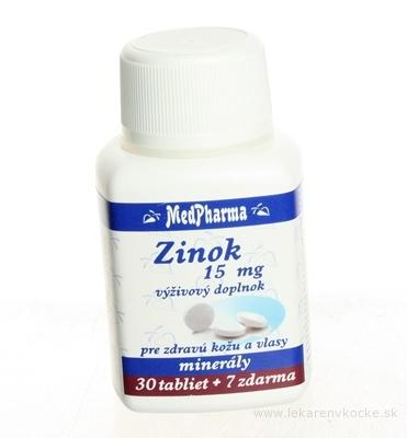MedPharma ZINOK 15MG tbl 30+7 zadarmo (37 ks)