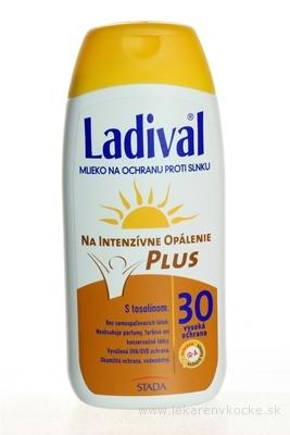 Ladival P+T Plus SPF 30 mlieko na ochranu proti slnku 1x200 ml