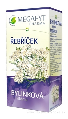 MEGAFYT Bylinková lekáreň REBRÍČEK bylinný čaj 20x1,5 g (30 g)