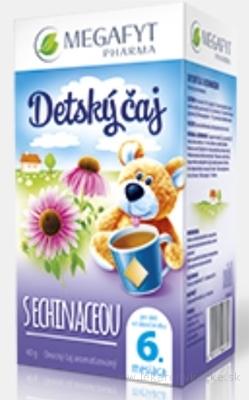 MEGAFYT Detský čaj S ECHINACEOU inov.2015, ovocno-bylinný čaj, 20x2 g (40 g)