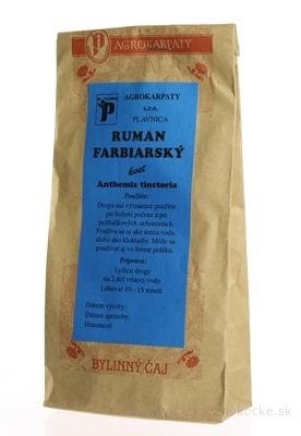 AGROKARPATY RUMAN FARBIARSKY kvet bylinný čaj 1x30 g