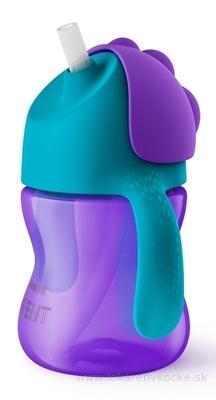 AVENT HRNČEK so slamkou 200 ml (0% BPA) od 9 mesiacov, s držadlami, dievča, 1x1 ks