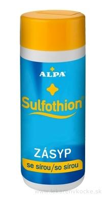 ALPA SULFOTHION ZÁSYP so sírou 1x100 g