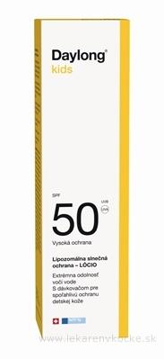 Daylong kids SPF 50 s dávkovačom lócio (mlieko na opaľovanie) 1x150 ml