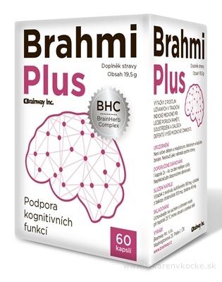 Brainway Brahmi Plus cps 1x60 ks