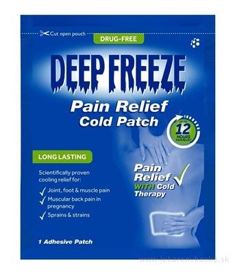 Deep Freeze Pain Relief Cold Patch chladivá náplasť 1x1 ks