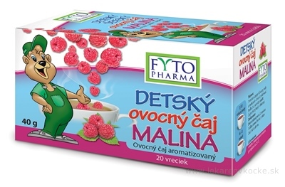 FYTO DETSKÝ ovocný čaj MALINA aromatizovaný 20x2 g (40 g)