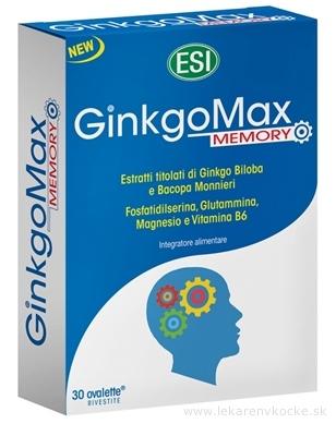 ESI GinkoMax Memory Mg+B6 tbl 1x30 ks