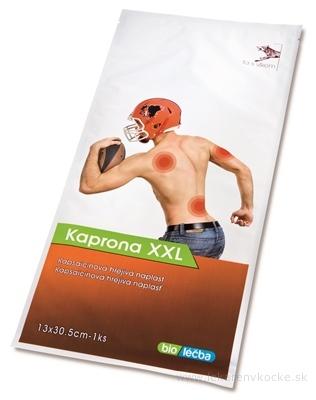 KAPRONA XXL Kapsaicínová hrejivá náplasť (13 x 30,5 cm) 1x1 ks