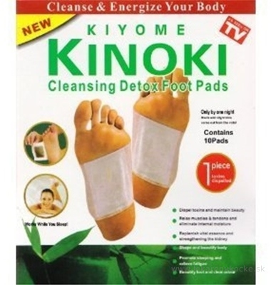 KINOKI Detoxikačné náplasti 1x10 ks