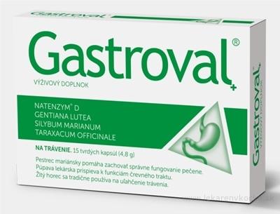 Gastroval + cps 1x15 ks
