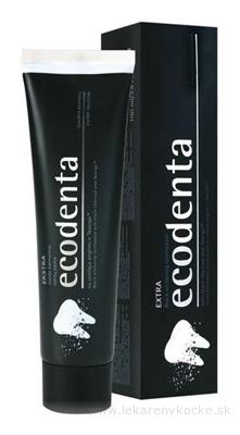 Ecodenta EXTRA Black whitening zubná pasta bieliaca (s čiernym uhlím a Teavigo) 1x100 ml